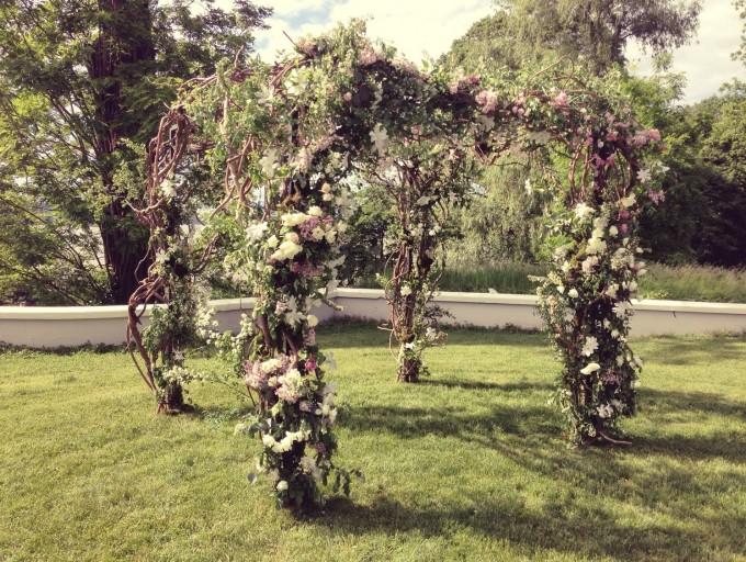 wisteria chuppah-locusts on hudson