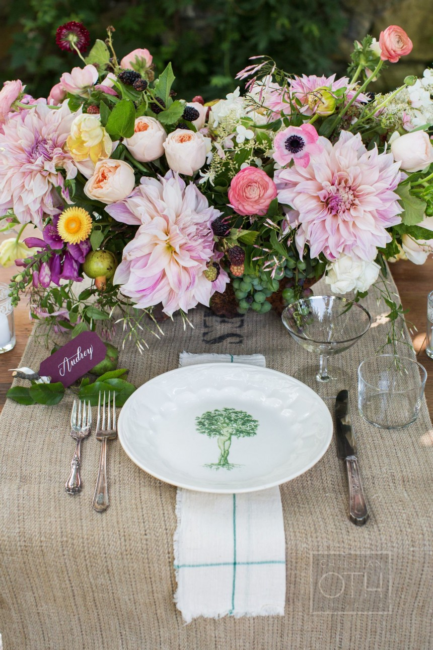 Meadowburn Farms wedding flowers new jersey garden