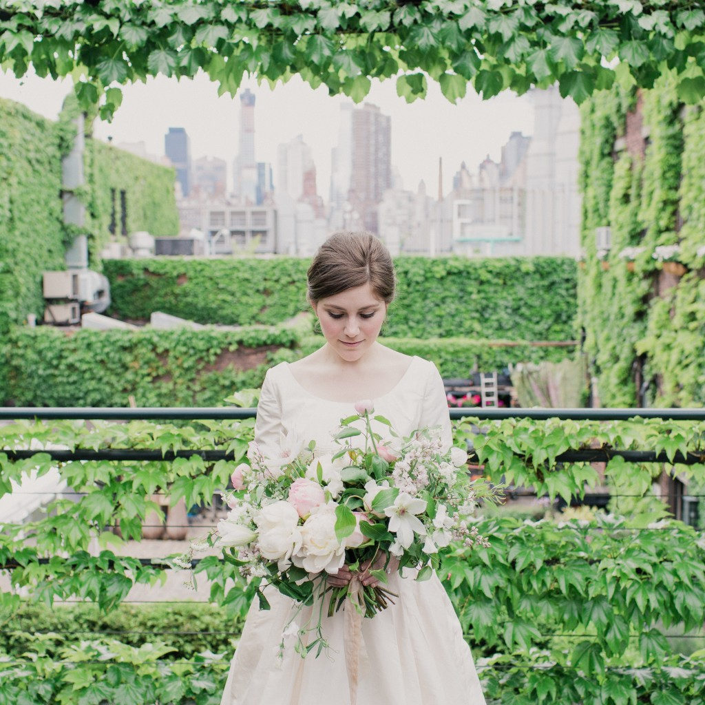 The foundry wedding bouquet new york city