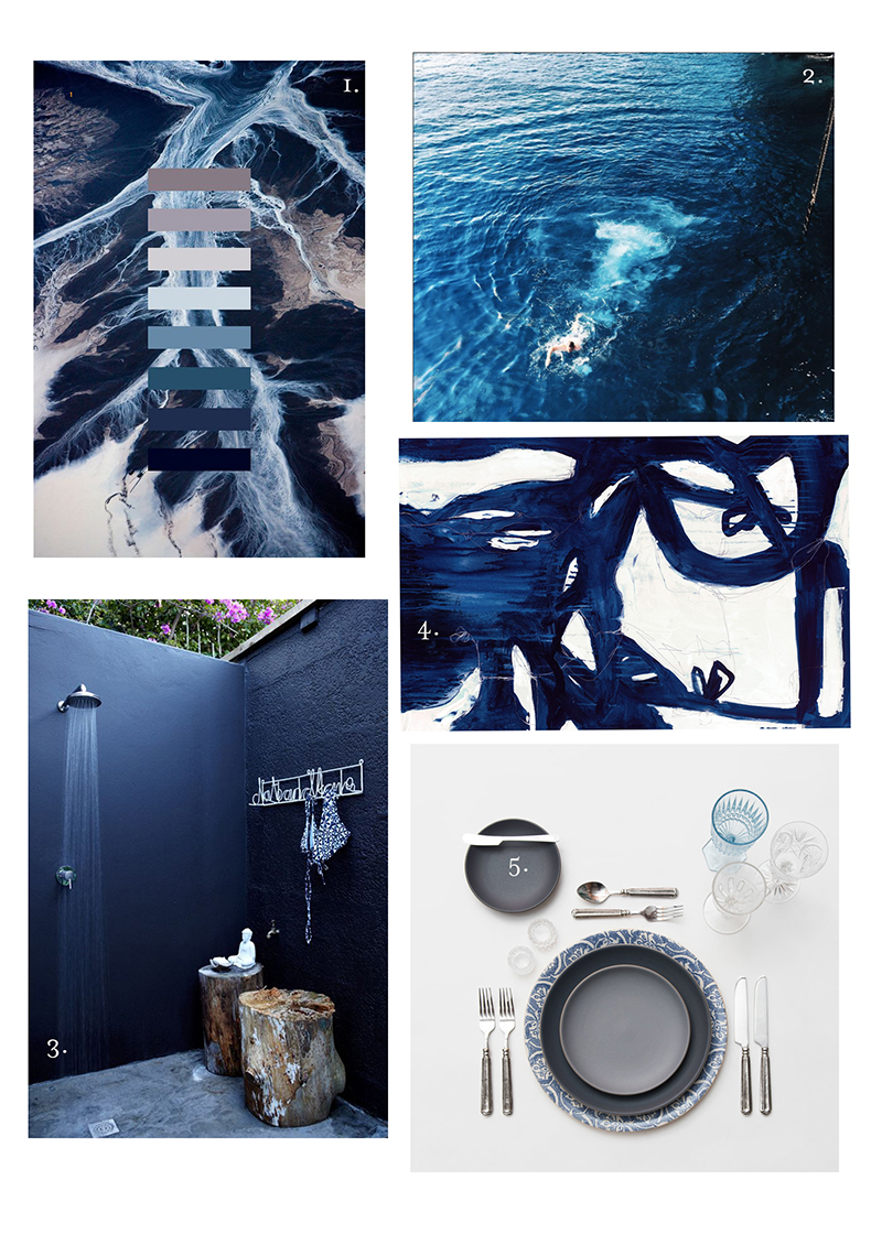 indigo mood board