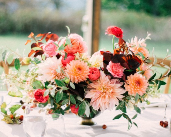 mollie and rob centerpiece