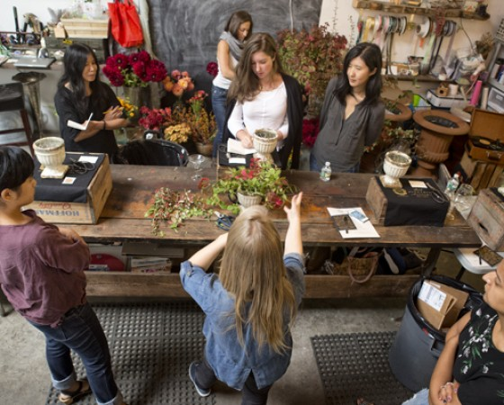 NYC Flower Workshop