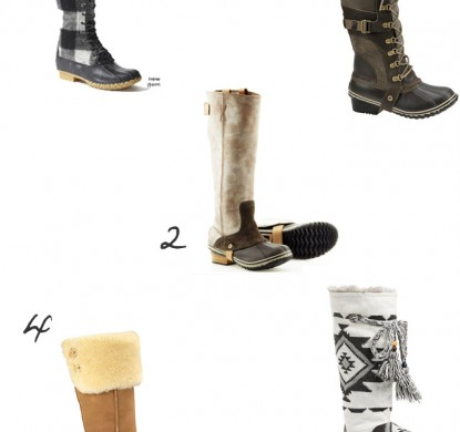 Winter Boot Picks
