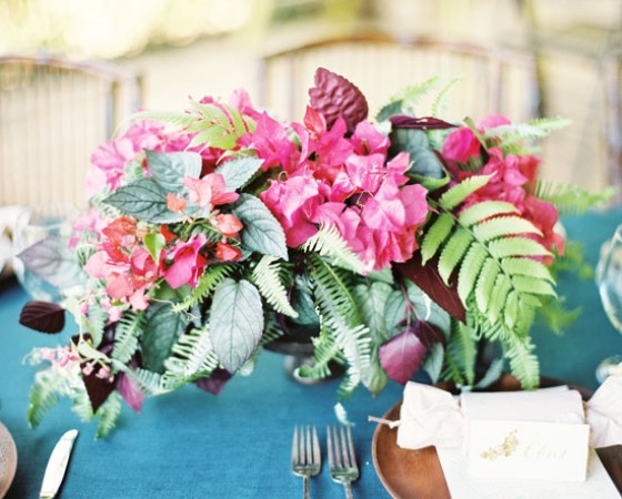 Poppies & Posies Featured in Martha Stewart Weddings