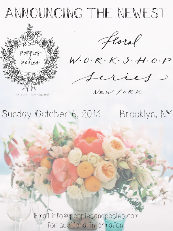 NYC Floral Workshop