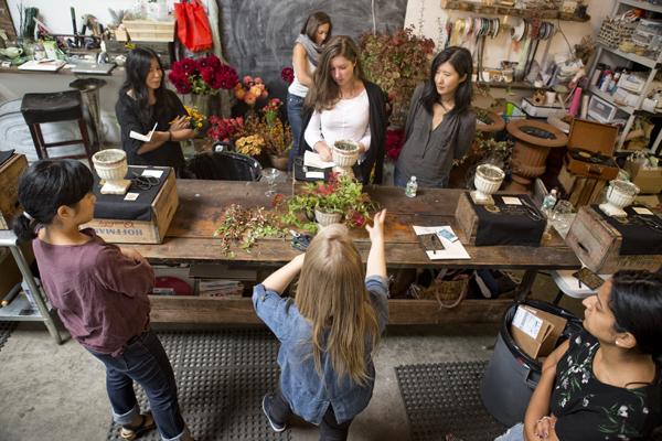 NYC Flower Workshop