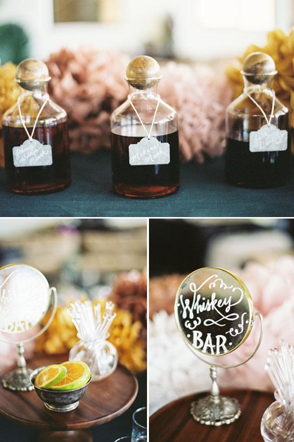 Poppies & Posies Bourbon Bar