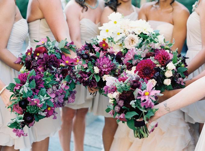 The Foundry Wedding Poppies & Posies