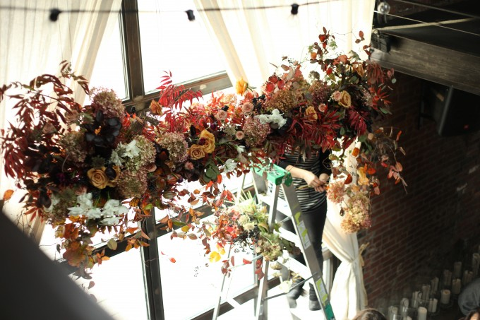 Wedding Floral Installation