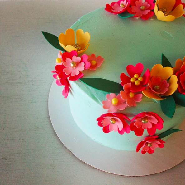 nine cakes, brooklyn, cake maker, wedding cake, dessert, cake, aqua, vibrant