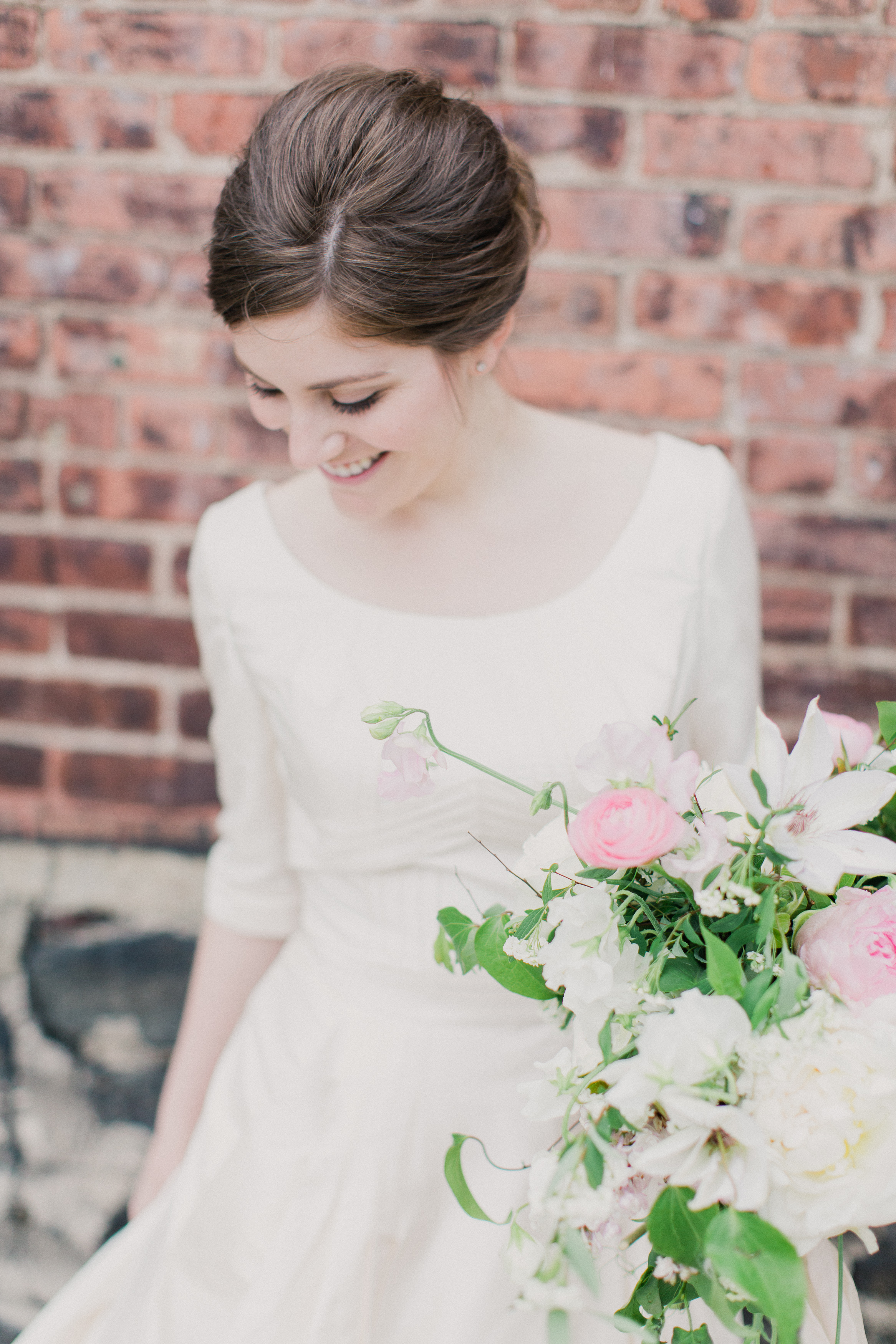 The Foundry wedding bouquet nyc