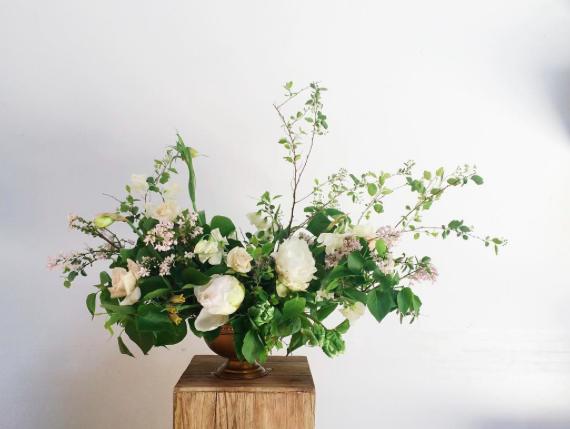 large spring arrangement